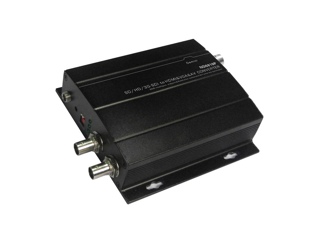 Automatical 3G Fiber Optic Transceiver Support All Type SDI Resolution