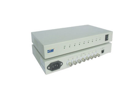 RJ45 120Ω Managed PoE Switch , 4 E1 PDH Multiplexer 4 Port Managed Switch