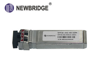 China SFP28 25G SFP Übermittler des Faser-Optiktransceiver-850nm VCSEL für Inter- Gestell Connectione usine